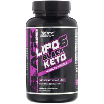 Lipo-6 Black Keto фирмы Nutrex Research цена