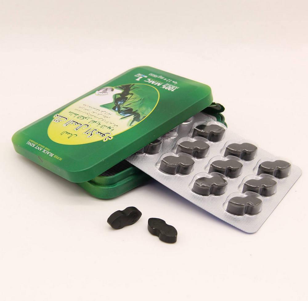 Цена Супер Черный королевский муравей таблетки для потенции купить недорого